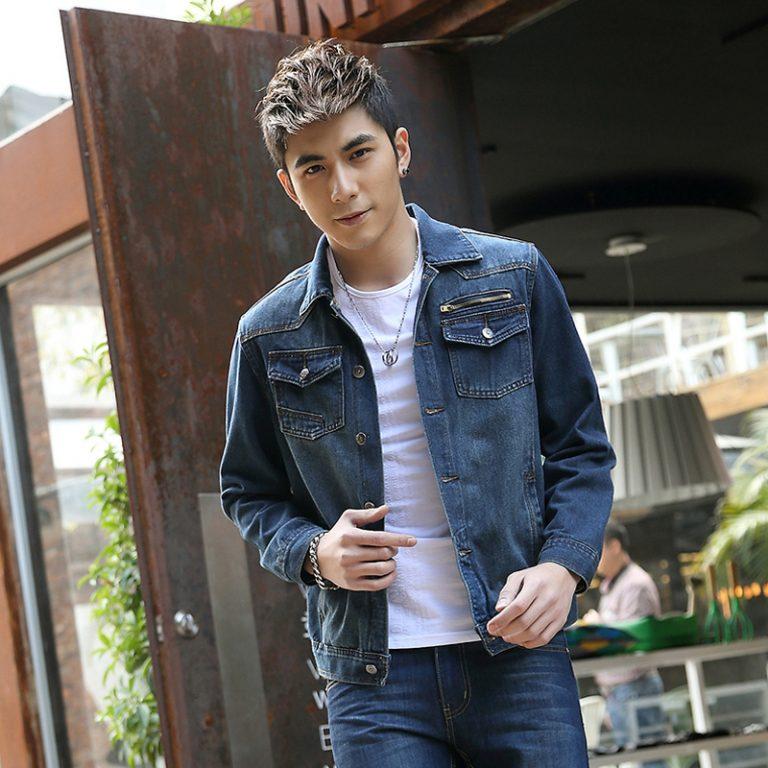 Cách phối đồ cùng áo khoác jean nam cực kỳ phong cách - 1