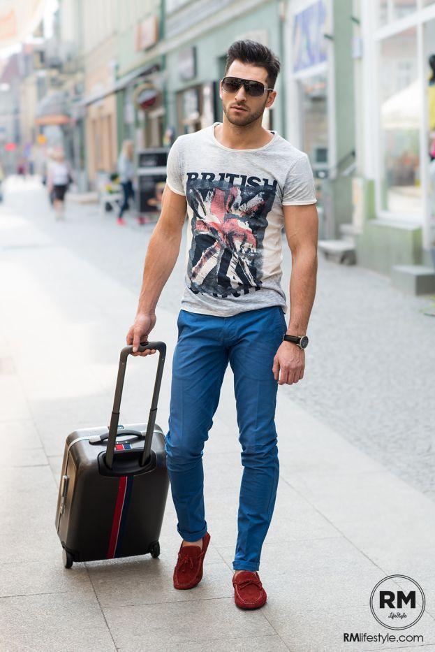 Những lưu ý khi phối quần jean và áo thun nam - 3