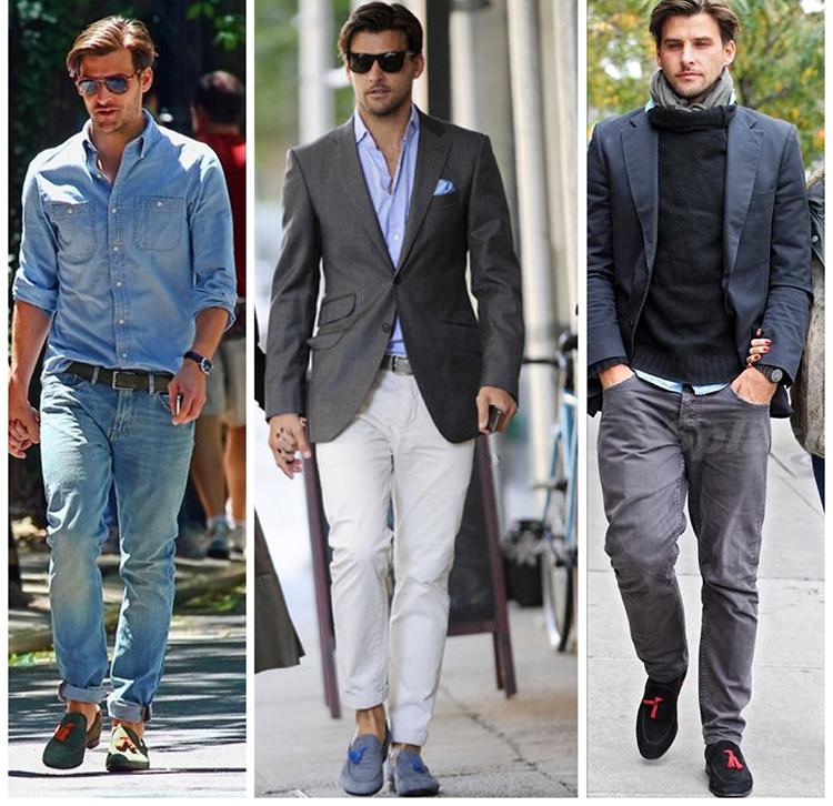 Bí quyết mặc đẹp tiêu chuẩn cho nam cao gầy - 3