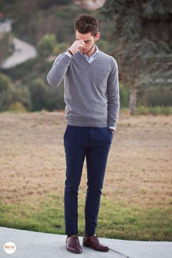Cách phối giày da và áo nam thích hợp - 4