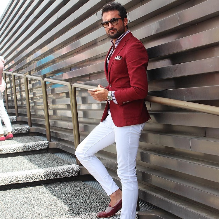 Cách phối trang phục đỏ cho các chàng trai nồng nhiệt - 4