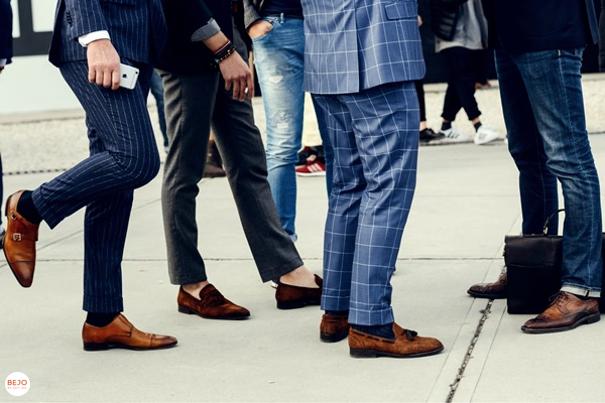Giày da nam nên phối cùng quần gì thì thích hợp - 4