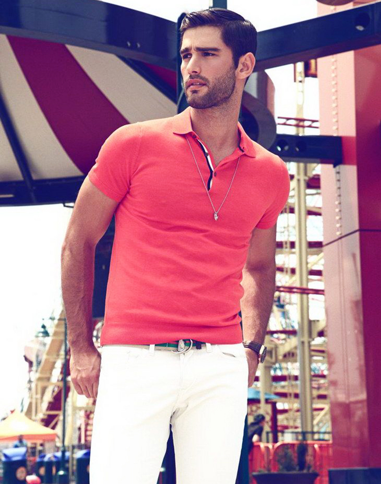 Cách phối trang phục đỏ cho các chàng trai nồng nhiệt - 1