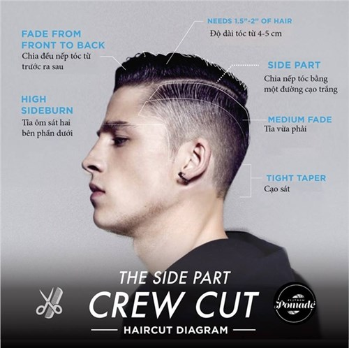 Kiểu tóc nam chất phái mạnh nên thử một lần trong đời - 16