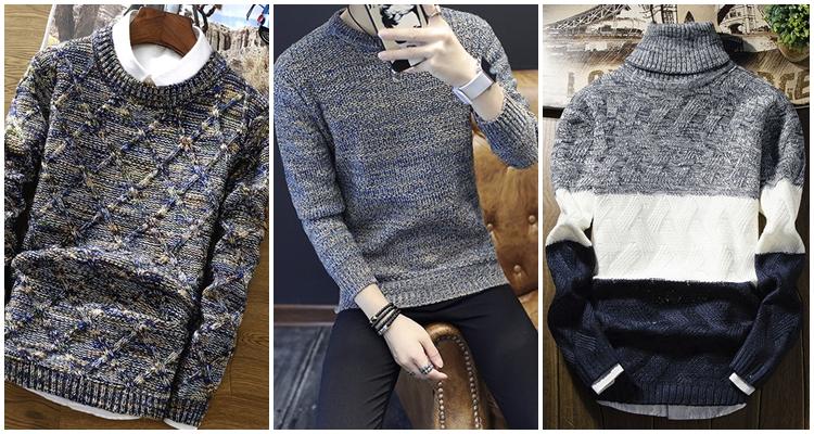 Hàng loạt mẫu áo len mới đã có mặt tại 4men - 3