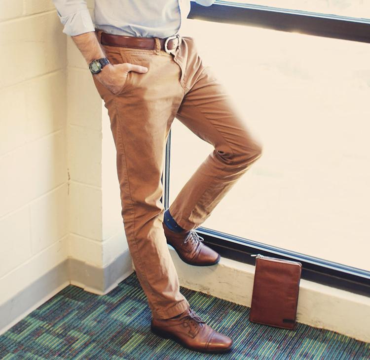 Chọn giày phù hợp với quần kaki - 3