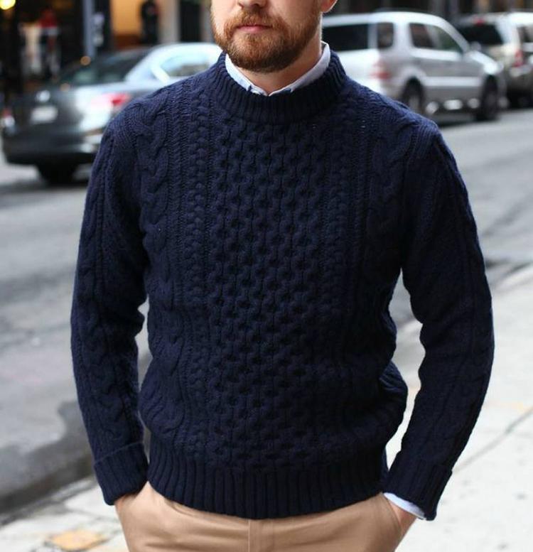 Chọn áo len cho chàng béo - 1