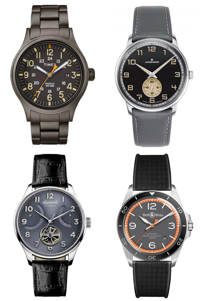 Giới thiệu xu hướng đồng hồ nam 2018 - 2