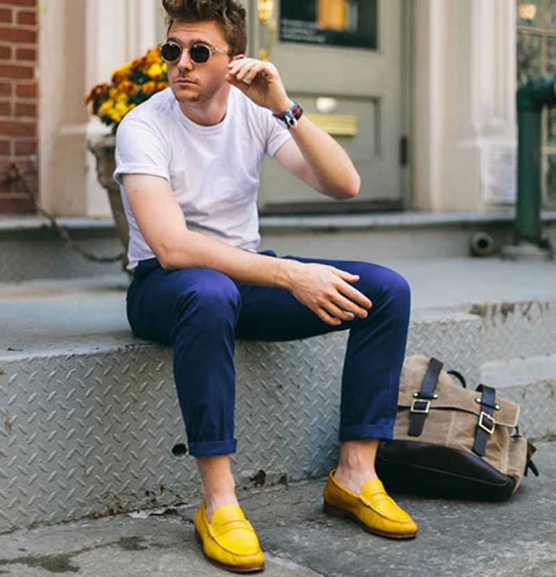 Người đàn ông phong độ lịch lãm với quần tây ống côn - 4