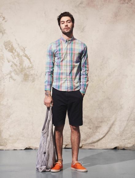 Cách phối đồ cùng áo sơ mi caro nam cực đẹp - 2