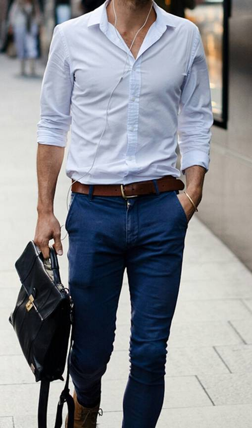 Cách phối túi xách da nam đẳng cấp dành cho các quý ông công sở - 2