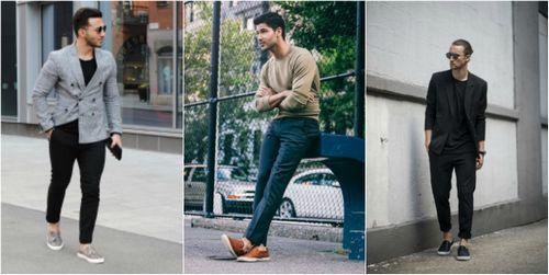 Cách phối giày slip on cực chuẩn dành cho các bạn nam - 3