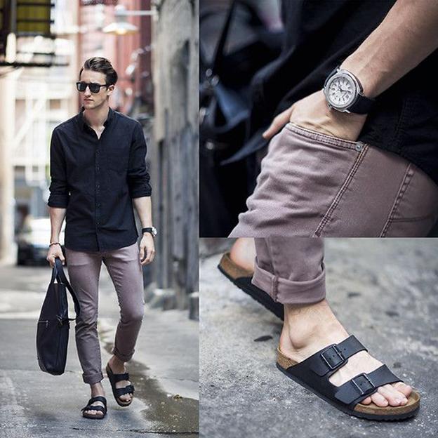 Tuyệt chiêu diện giày sandal dành cho các quý ông - 3