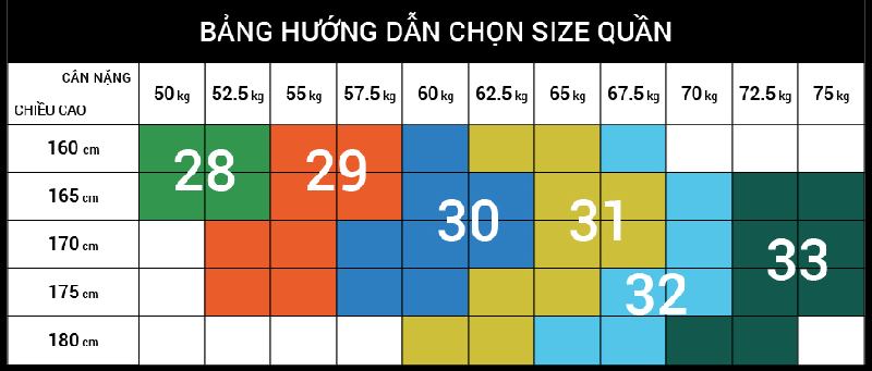 Cách chọn size quần jean nam chuẩn - 1