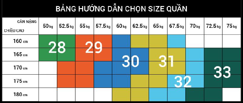 Cách chọn size quần jogger nam cực chuẩn - 1
