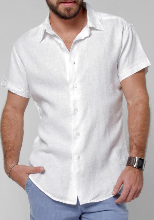 Cách phối đồ cùng áo sơ mi nam trắng - 4
