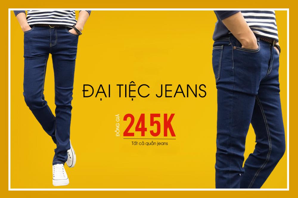 Đại tiệc jeans - sale đồng giá 245k - 1