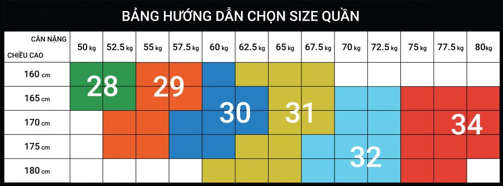 Hướng dẫn chọn size - 2