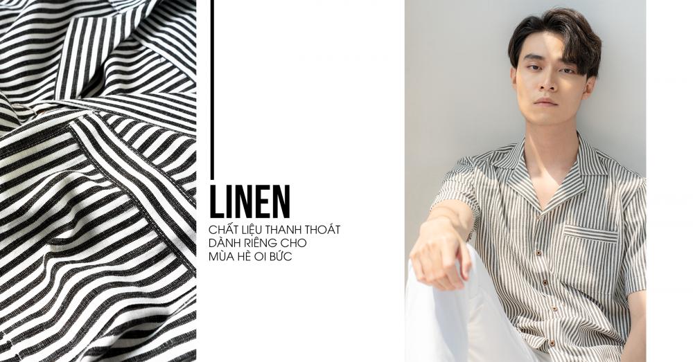 Linen - chất liệu thanh thoát giữa ngày hè nóng bức - 1