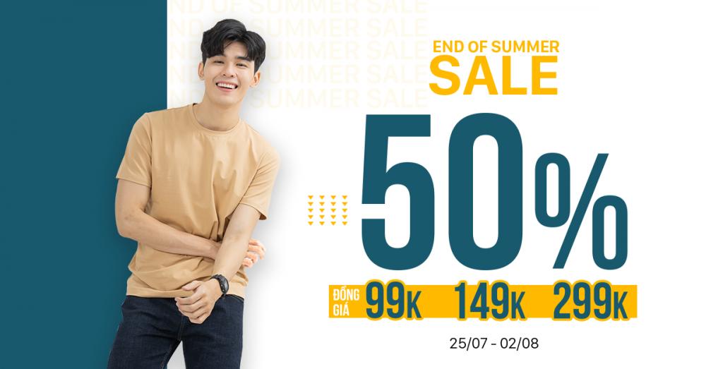 End of summer - sale upto 50 - 1