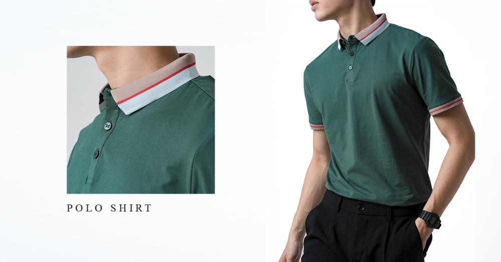 Bắt nhịp xu hướng màu thu đông cùng polo shirt - 6