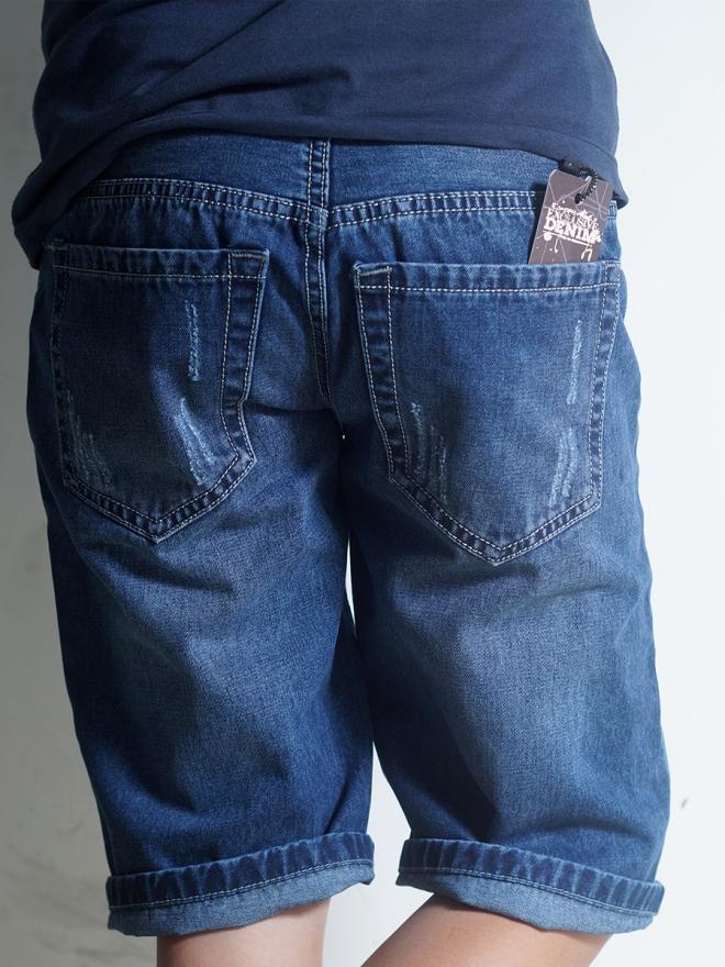 Quần Short Jean Xanh Đen QS36
