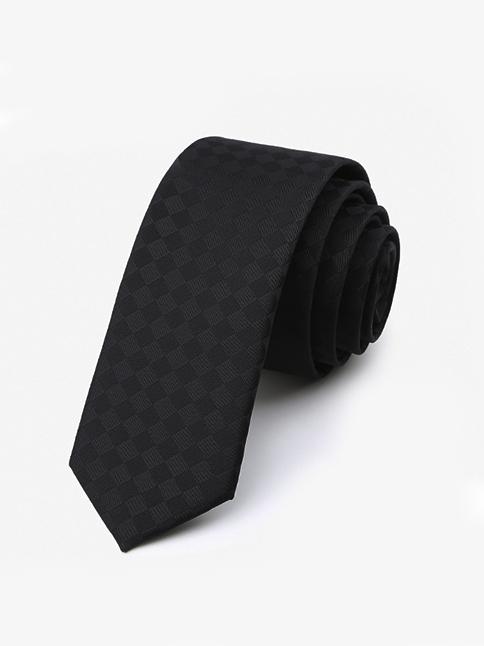 Cà Vạt Hàn Quốc Đen CV47