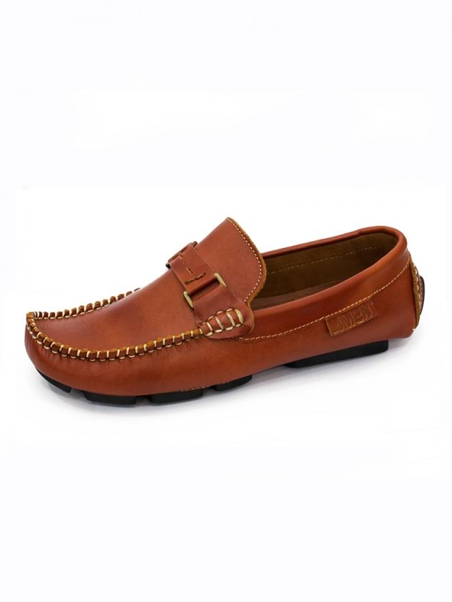 Giày Mọi Da Bò Đậm G28