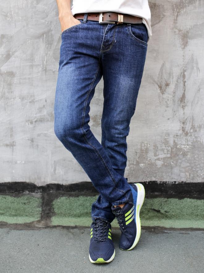 Quần Jean Skinny Xanh Đen QJ1298