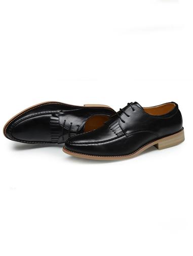 Giày Tây Da Đen G71