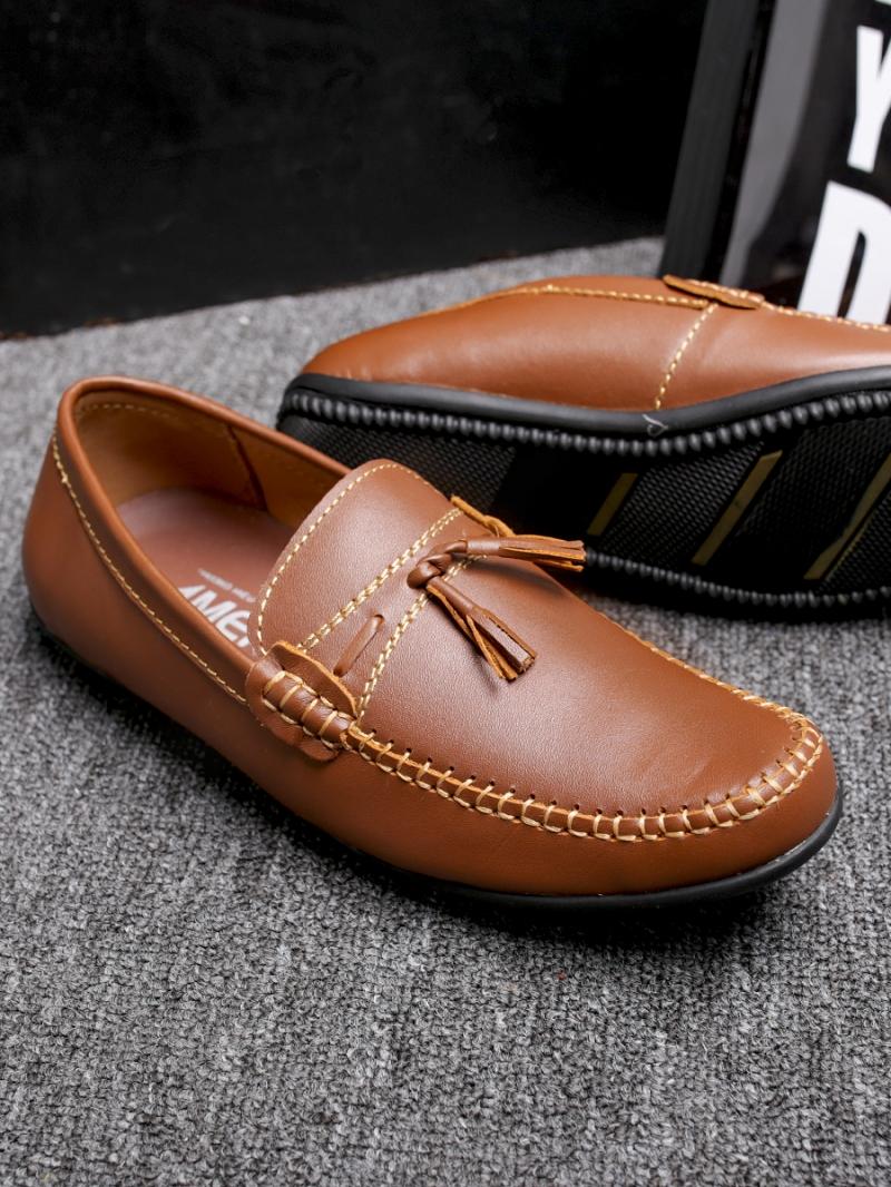 Giày Mọi Màu Bò G86