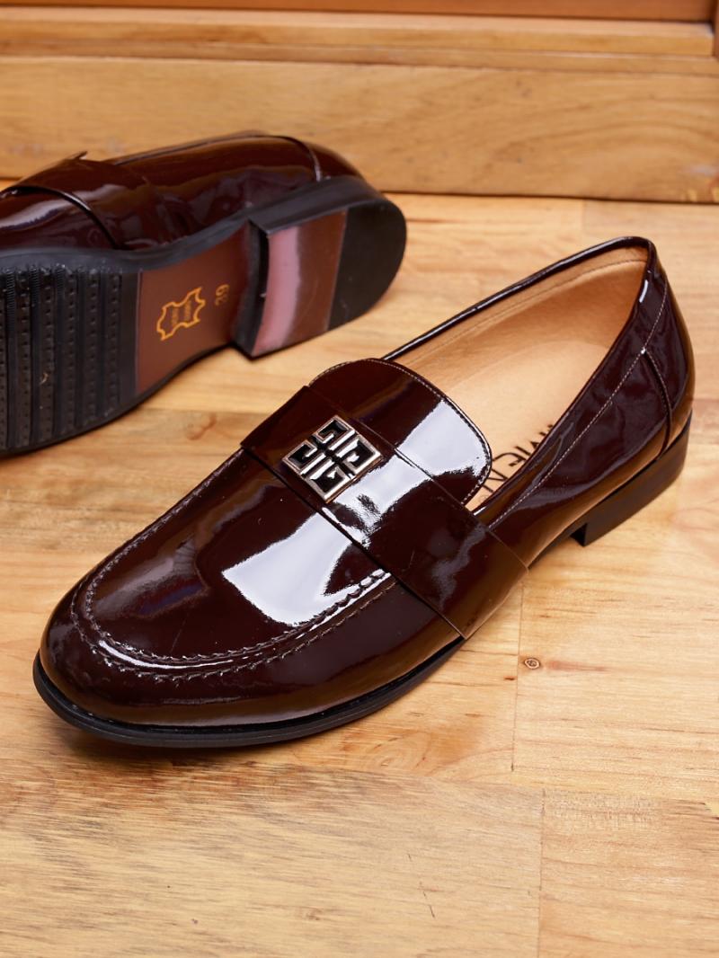 Giày Tây Da Nâu G82