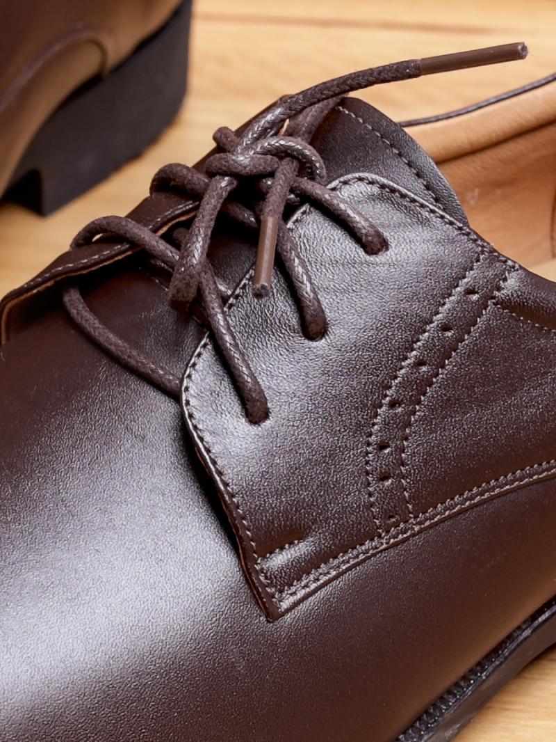 Giày Tây Da Nâu G85