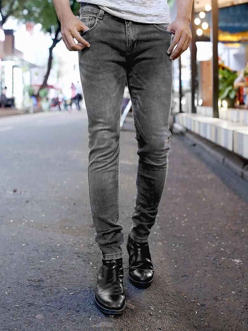 Quần Jean Skinny Xám Chuột QJ1384