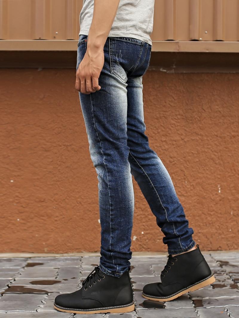 Quần Jean Skinny Xanh Đen QJ1392