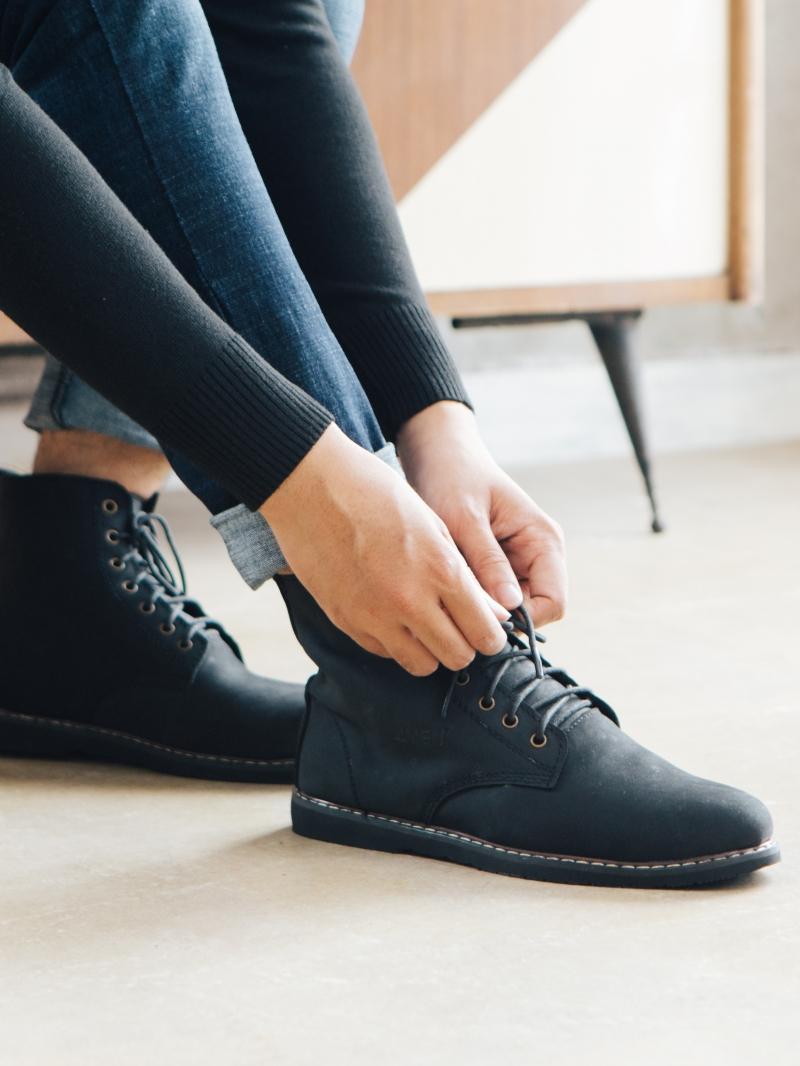 Giày Boot Đen G90