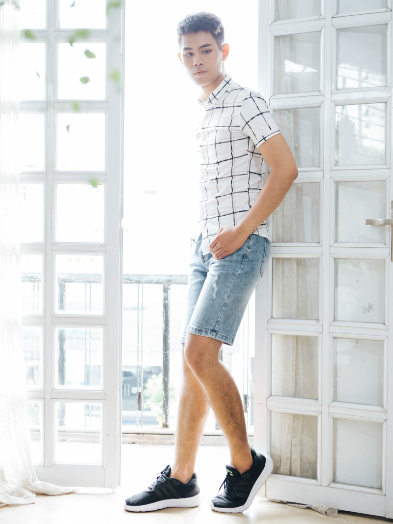 Quần Short Jean Xanh QS84