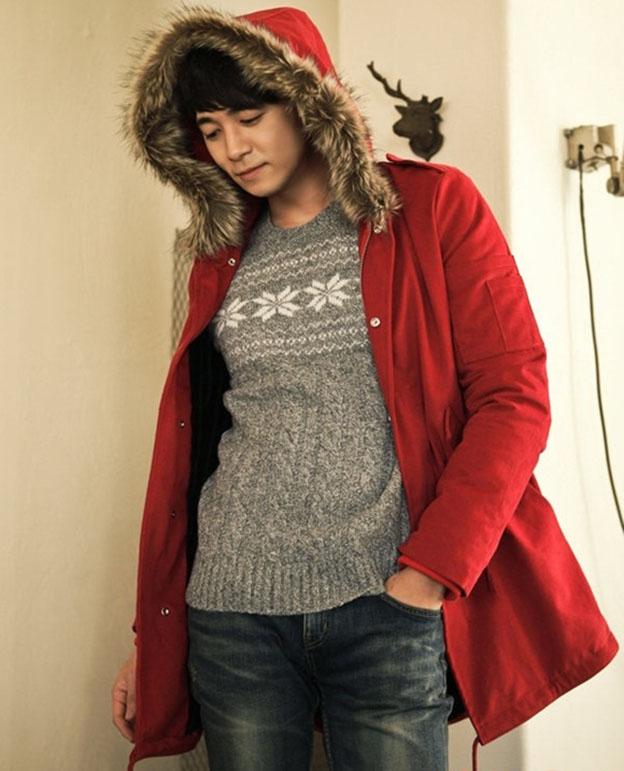 Chọn áo ấm nam tại 4men cho mùa lạnh thêm cá tính