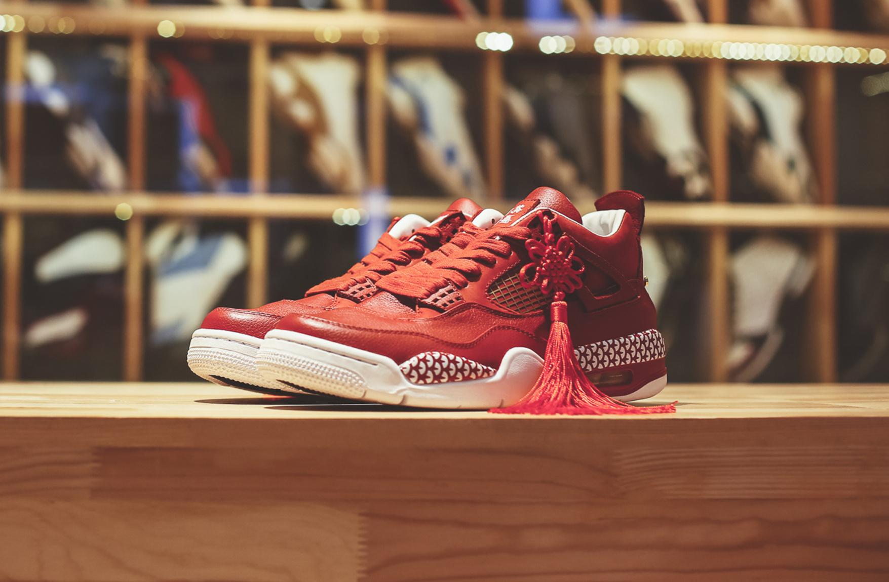Cùng đón tết 2017 với giày Nike Air Jordan 4