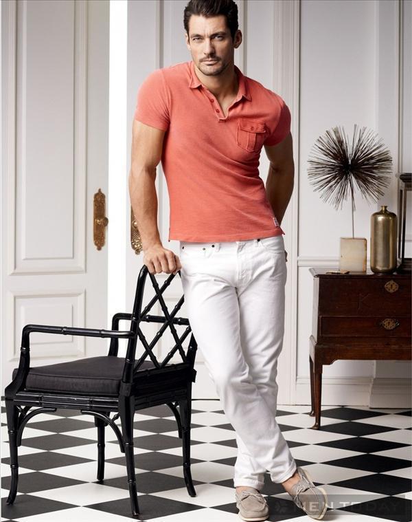 Mẹo diện sét đồ cùng quần jean nam trắng
