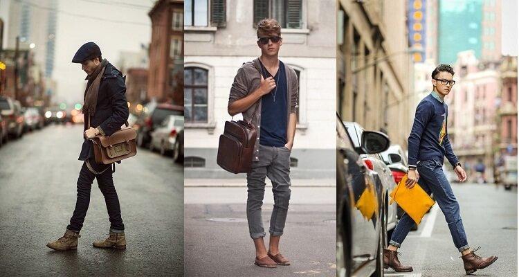 Cách chọn túi xách theo dáng người dành cho các nam giới
