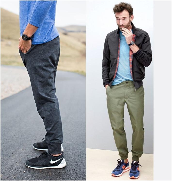 Cách mặc quần jogger nam đẹp dành cho các chàng
