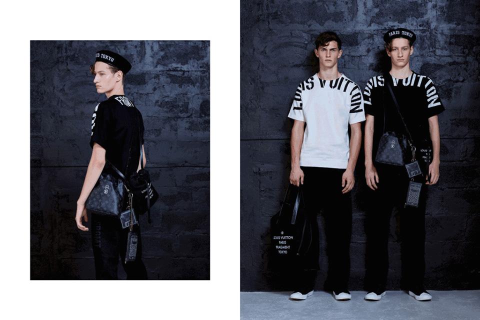 Fragment designs hè lộ chùm hình ảnh thời trang nam collab của Louis Vuitton