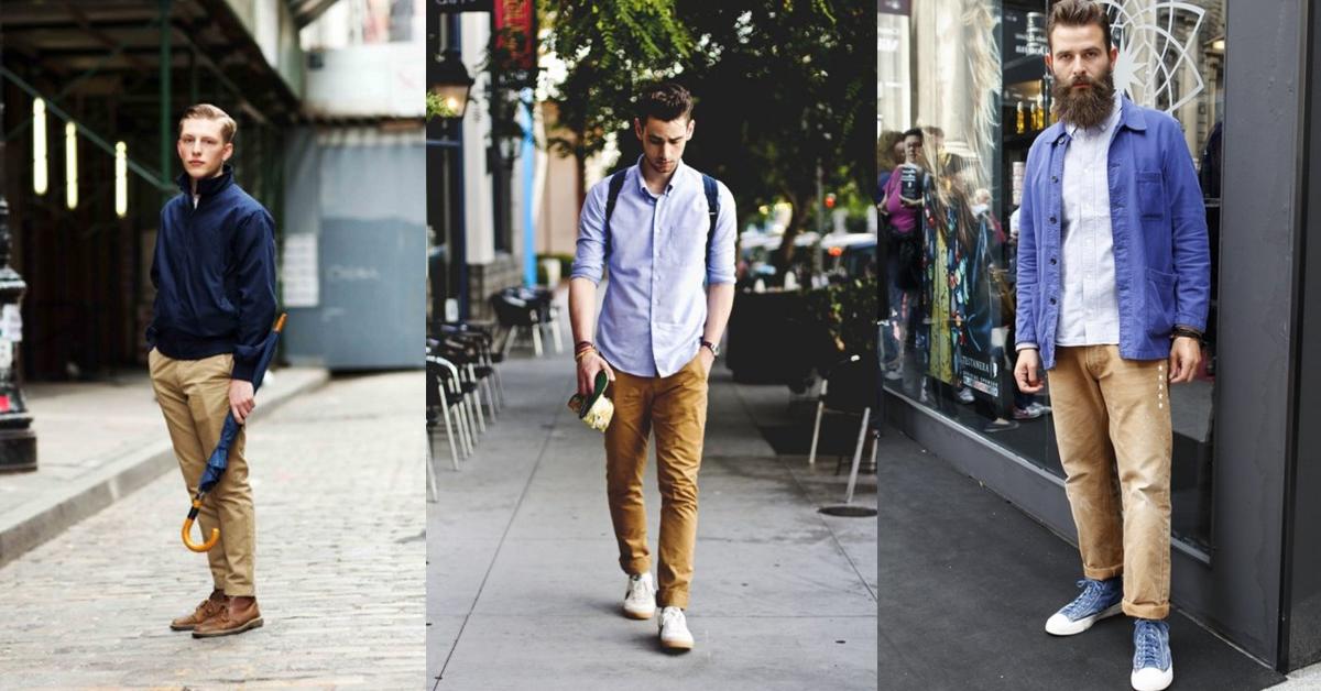 Những điều cần lưu ý khí diện quần kaki nam