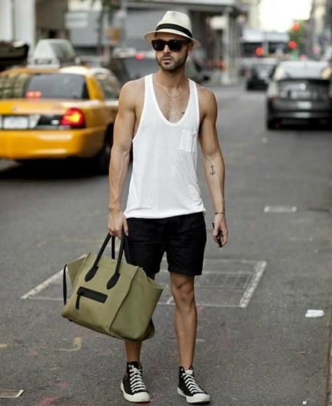 Cách mặc quần áo đi du lịch hè dành cho nam
