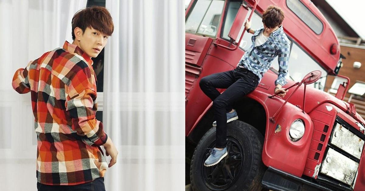 Cách mix áo sơ mi nam caro theo phong cách Hàn Quốc