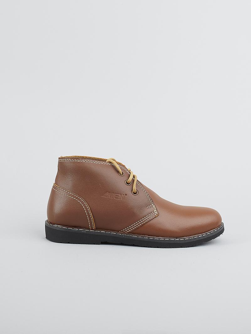 Giày Boot Tăng Chiều Cao Bò G122