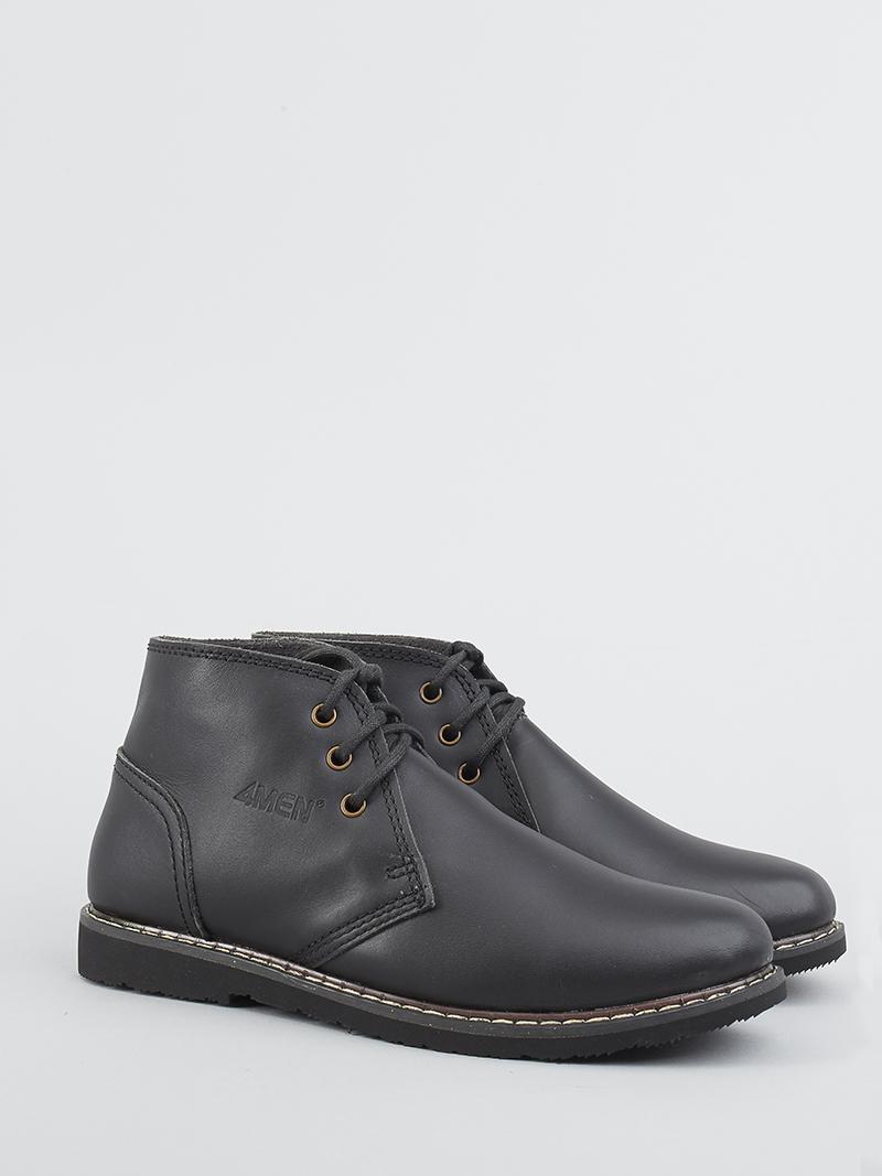 Giày Boot Tăng Chiều Cao Đen G122