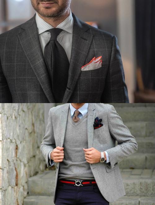 Hướng dẫn cách gấp khăn trang trí tui áo vest nam