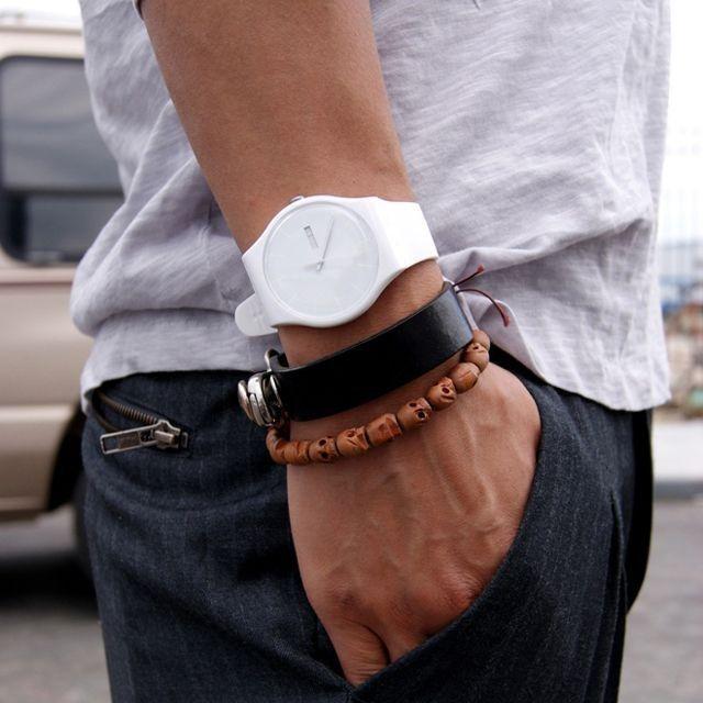 Cách phối đồng hồ và vòng tay cực kỳ độc đáo dành cho các quý ông